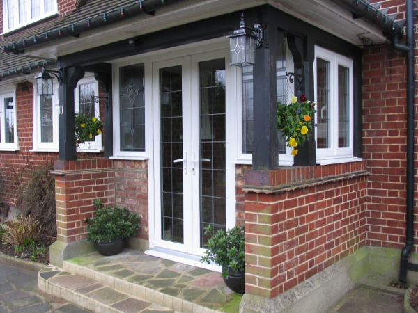 Porches essex cjs exteriors for Double glazed porch doors