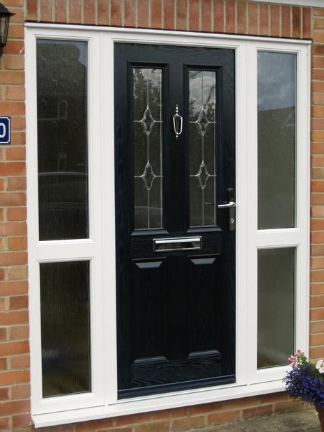 Black Composite Front Door And Frame composite front door black ...