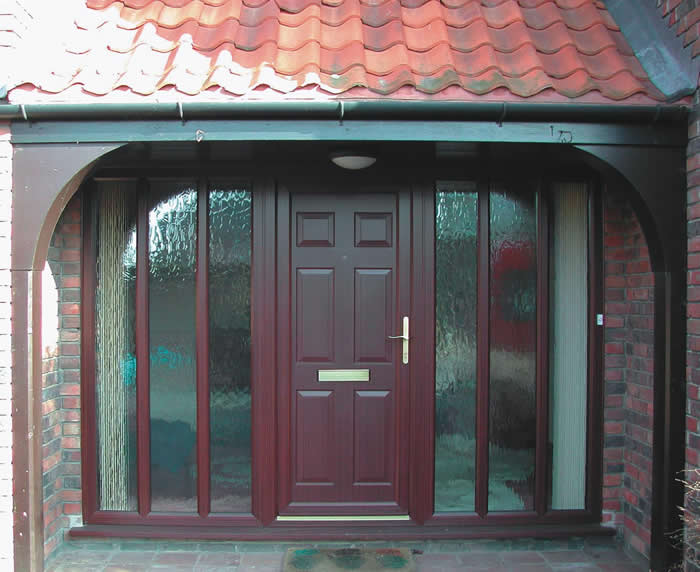 Residential Entrance Door in South Woodford  CJS Exteriors